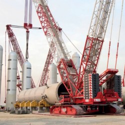 Terex Cranes с голяма доставка в Близкия изток