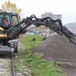 Най-новите модели машини на Mecalac на изложението Plantworx
