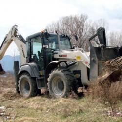 Нови багер-товарачи Terex в българската гора